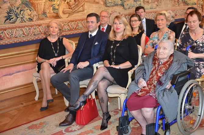 """Jeudi 27 Avril 2017. ANNE à la Conférence du Prince Charles-Emmanuel de BOURBON PARME : ...........................""""LE BON SENS AU POUVOIR."""""""