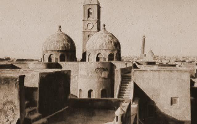 MOSSOUL.  NOTRE-DAME DE L'HEURE CONSTRUITE EN 1872. .