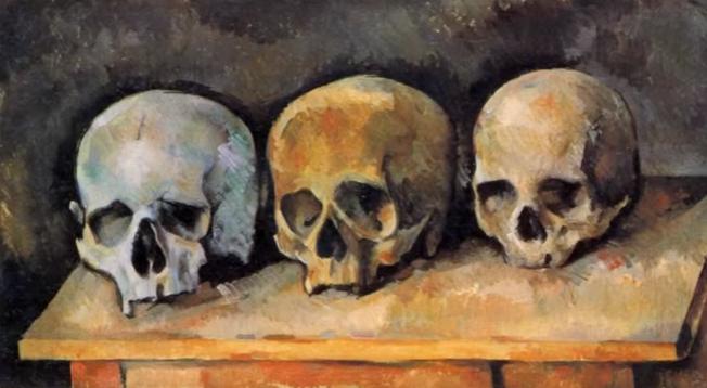 """""""NATURE MORTE AUX 3 CRANES"""". 1900. Huile sur toile 34X60cm. DETROIT INSTITUTE FINE ARTS"""