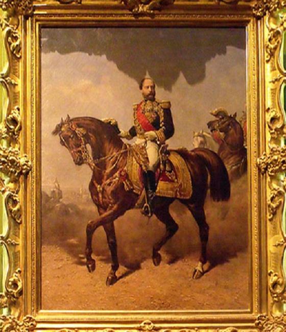 PORTRAIT DU PRINCE HENRI V D'ARTOIS, COMTE DE CHAMBORD (1820 + 1883)