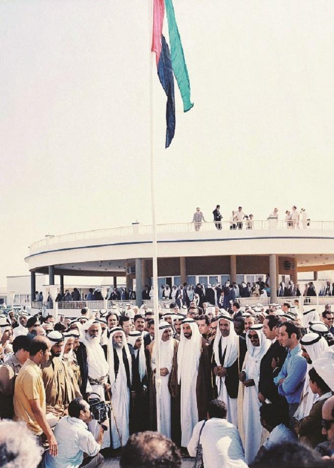2 DEC. 1971. UN GRAND JOUR POUR LA FEDERATION DES EMIRATS ARABES UNIS