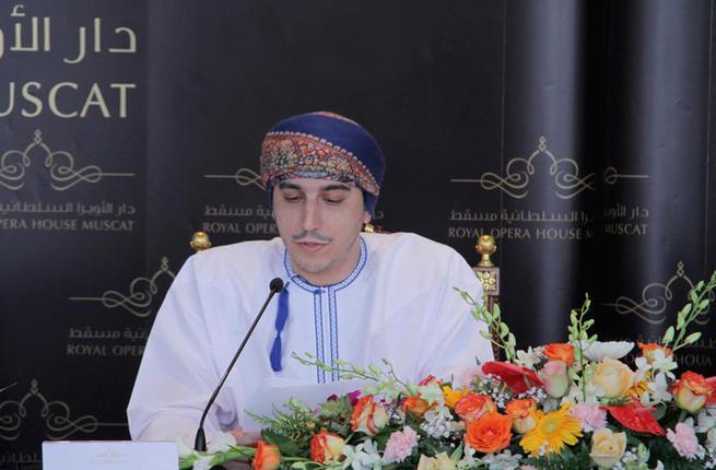 Son Altesse le Prince KAMIL bin FAHAD, administrateur du ROH, annonce le programme 2014.