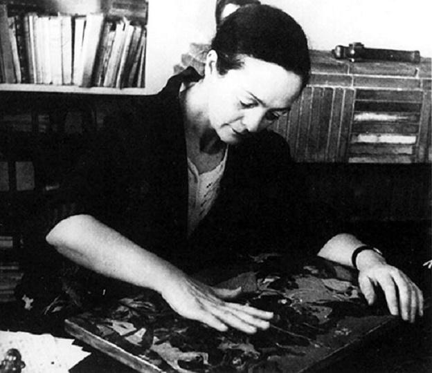 ALIX AYME (21 Mars 1894 Marseiile + 21 Mars 1989 Paris). NOUS LUI DEVONS, COMME à INGUIMBERTY, LE RENOUVEAU DE L'ART DE LA LAQUE.