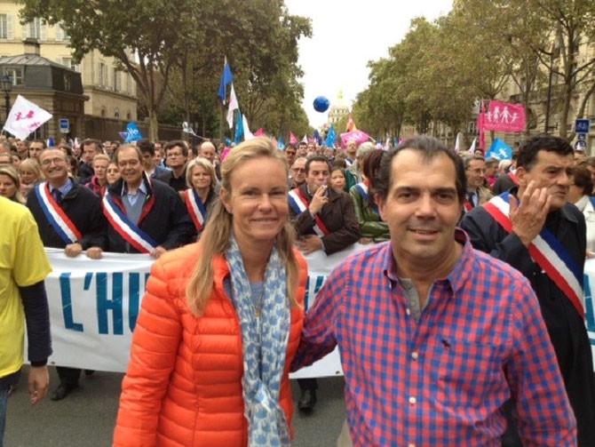LES PRINCES PRENNENT LA TÊTE DE LA MANIF POUR TOUS 2013.