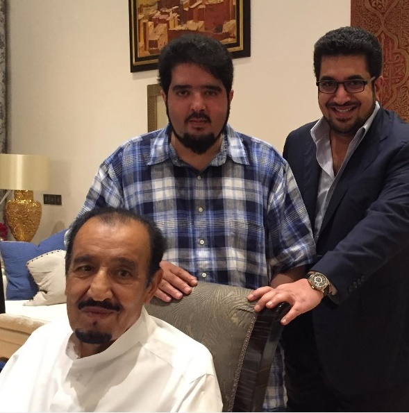 TANGER. Sept. 2015: le Roi SALMAN reçoit son neveu le Pce ABDULAZIZ bin FAHD 16 avril 1973 + 5 nov. 2017 et son petit-neveu Pce NAWAF bin FAISAL bin FAHD né le 1er avril 1978