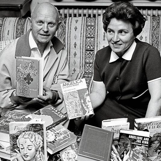 1966. ANNE et SON MARI SERGE, MORT EN 1972.