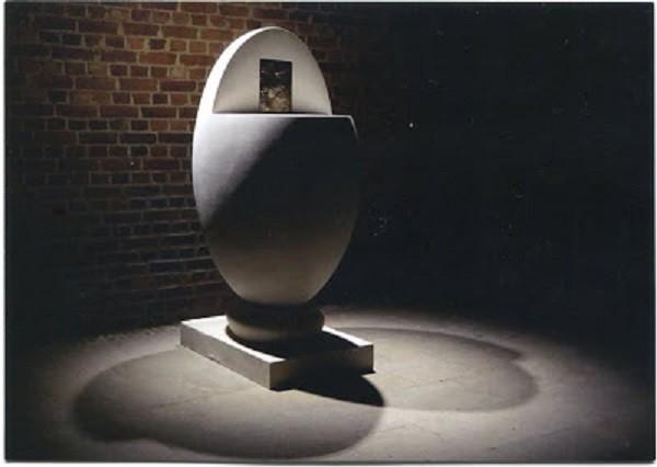 LE TABERNACLE, L'OEUF PARFAIT DE HENRI LAURENS (1885-1954). C * Lionel  GENTRIC.