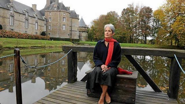 SEPT. 2013. JOAN BAEZ, UNE AMIE DE 30 ANS. C*Jean-Jacques LEROSIER Ouest France