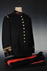 Vareuse et pantalon d'un colonel d'état-major du génie