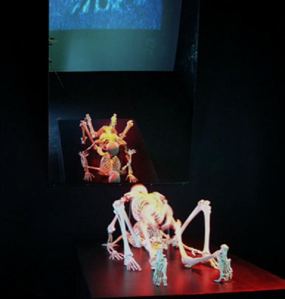 SARAGOSSE. PALAIS SOSTAGO. UNE PROVOCATION de BEN et YANNICK exposée de 1984 à 2002.