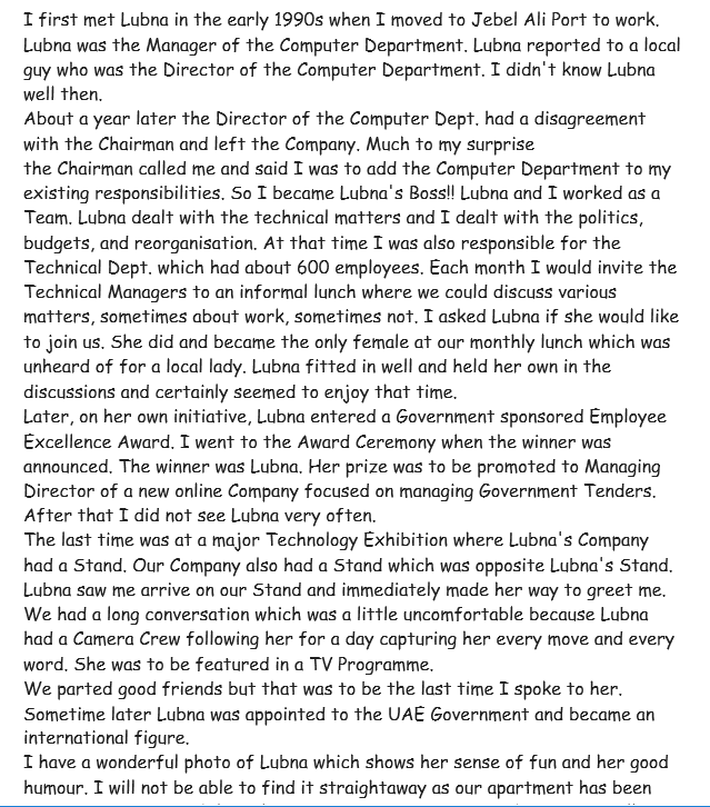 TEMOGNAGE DE LEN CHAPMAN ( Mail du 14 Février 2017)