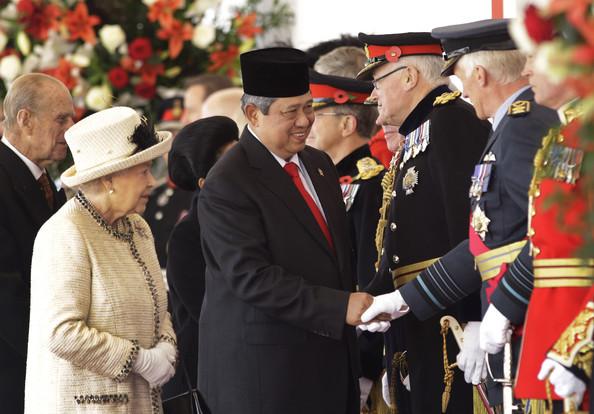 31 0CTOBRE 2012. LONDRES. VISITE D'ETAT DU PRESIDENT Susilo B. YUDHOYNO.