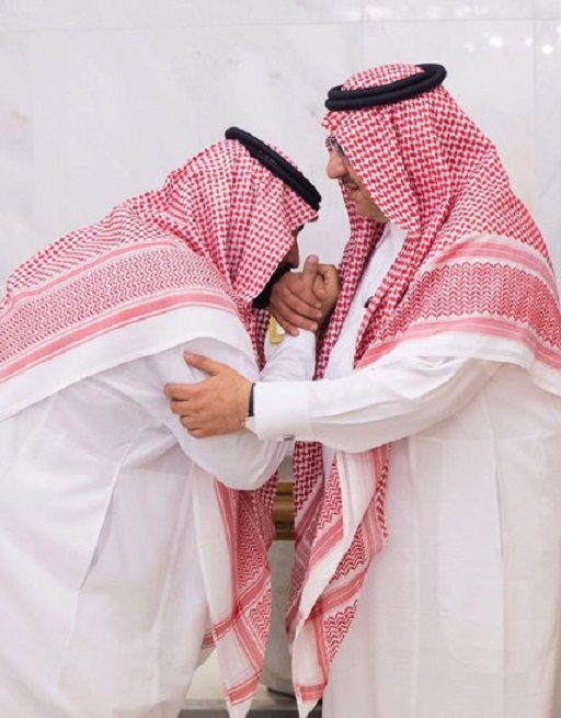 PRINCE MBS... BAISE ... PRINCE MBN .  C* Cour Royale saoudienne