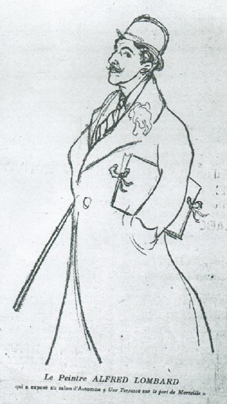 1910. REVUE LE FEU . DOCUMENT INEDIT DE LA GALERIE A. PENTCHEFF.