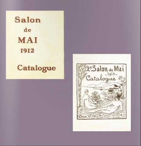 """EN 1912 et 1913 LES """"SALONS DE MAI"""" EURENT LIEU DANS LES ATELIERS 12 QUAI DE RIVE NEUVE. CONCERTS, RECITALS, CAUSERIES, CATALOGUE, NUMERO SPECIAL DE LA REVUE LE FEU ILLUSTRE PAR PIERRE GIRIEUD ET ALFRED LOMBARD MAIS LES COLLECTIONNEURS NE SUIVIRENT PAS."""