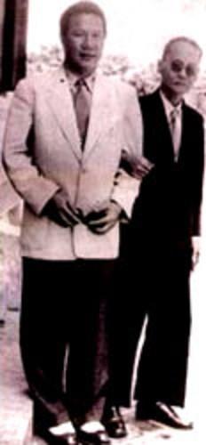 1951. SAIGON.LL.MM BAO DAI et  THANH THAI