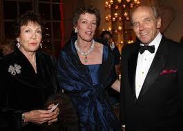 Le Prince et la Princesse née Maria Pia de Savoie,fille du Roi Umberto d'Italie