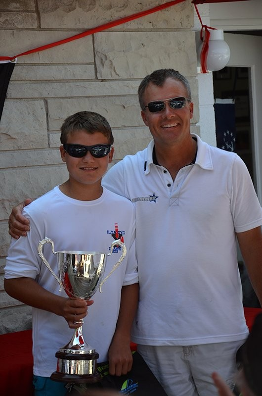 2013. HARRY MELGES IV GAGNE  MELGES 17 U.S. NATIONAL CHAMPIONSHIP LAKE GENEVA, WISCONSIN