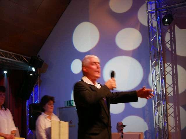 Wilfried als Sänger