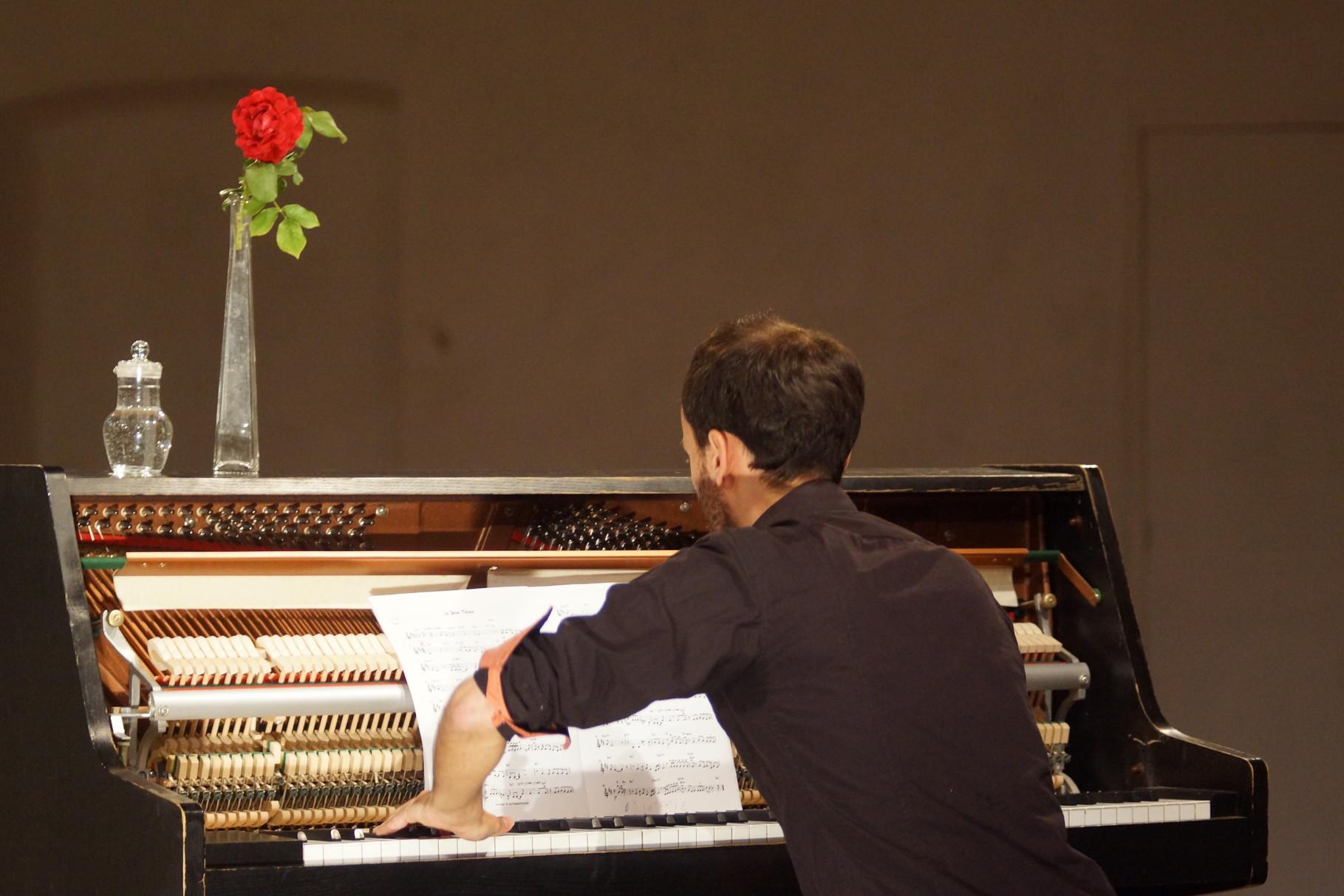 Concierto en Centre International de la Voix, Malérargues, Francia. Julio 2014