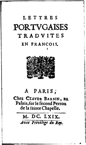 lettres protuguaises traduites