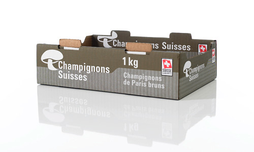 POS Produkte aus Wellpappe: Shelf Ready Packaging (SRP), Thekendisplays, Bodendisplays, Palettendisplays, Versandkartons, Offsetkaschierungen, Bag in Box - von RATTPACK® - Box für Gemüse