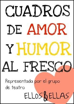 Cartel de la obra Cuadros de Amor y Humor