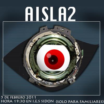 Cartel de la obra Aisla2