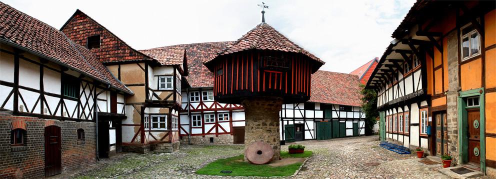 Pigeonnier à Osterwieck - Le Harz - Allemagne - (le véritable pays des sorcières)