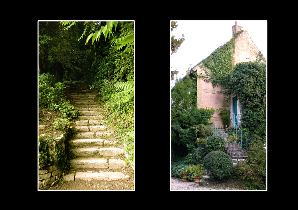 Promenade à Giverny (Village de Claude Monet) Eure-France - Septembre 2010