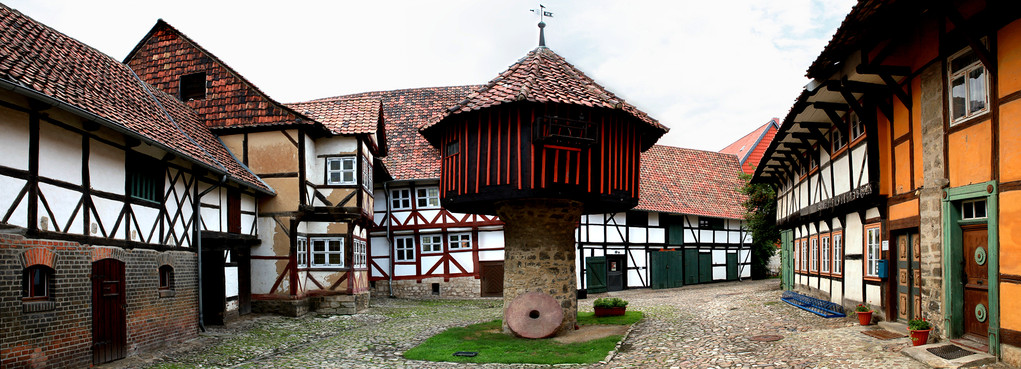 Pigeonnier à OsterWieck (Harz - Allemagne) - Vue panoramique
