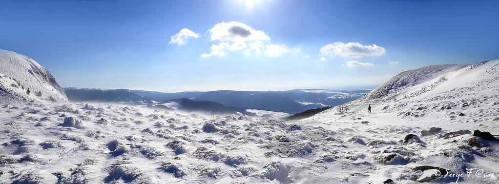 Le Tenon - Massif du Sancy - Auvergne - France - Vue panoramique