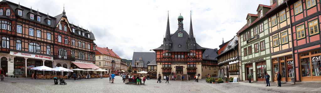 Wernigerode - Le Harz - Allemagne - (le véritable pays des sorcières)