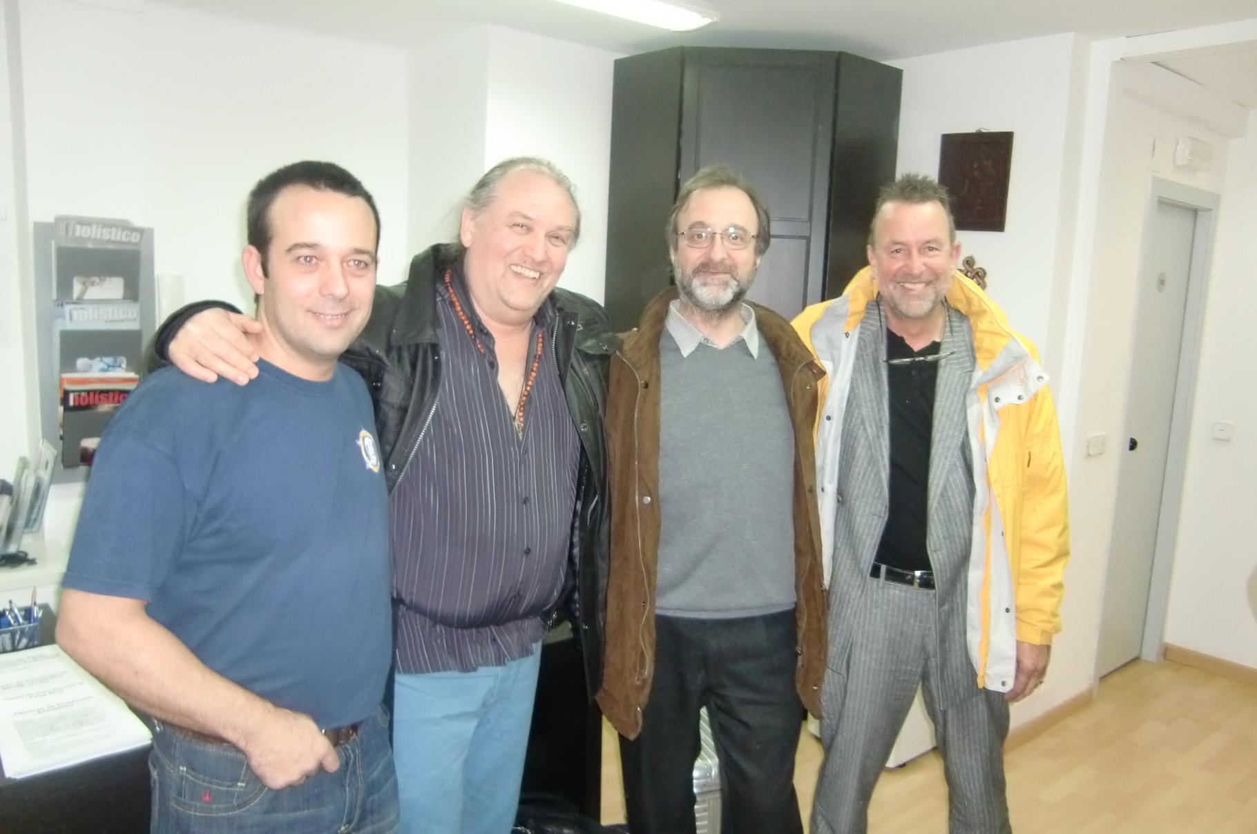 Tecnicas Reiki con Frank Arkjava, Victor Fernaddez y Walter Lübeck