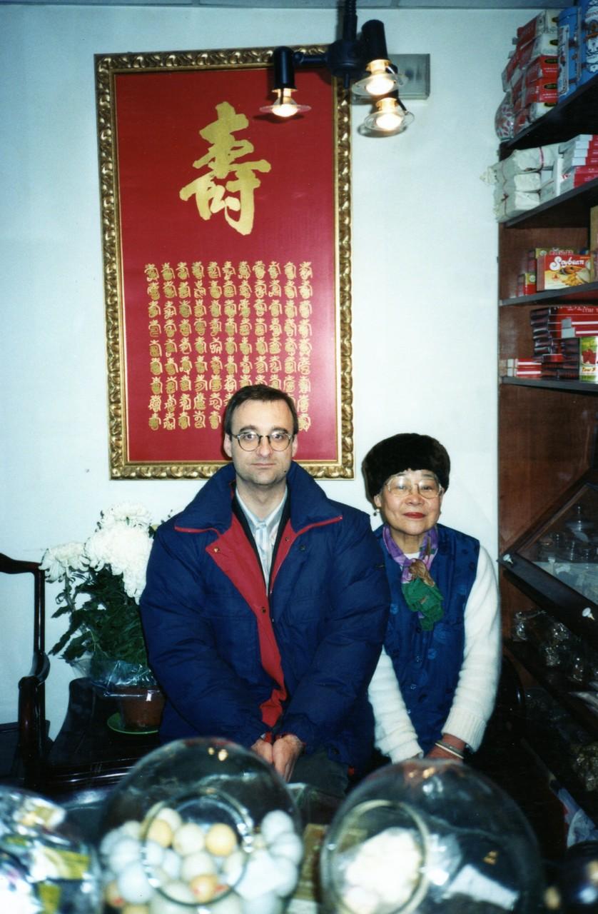 Con la maestra china Chui