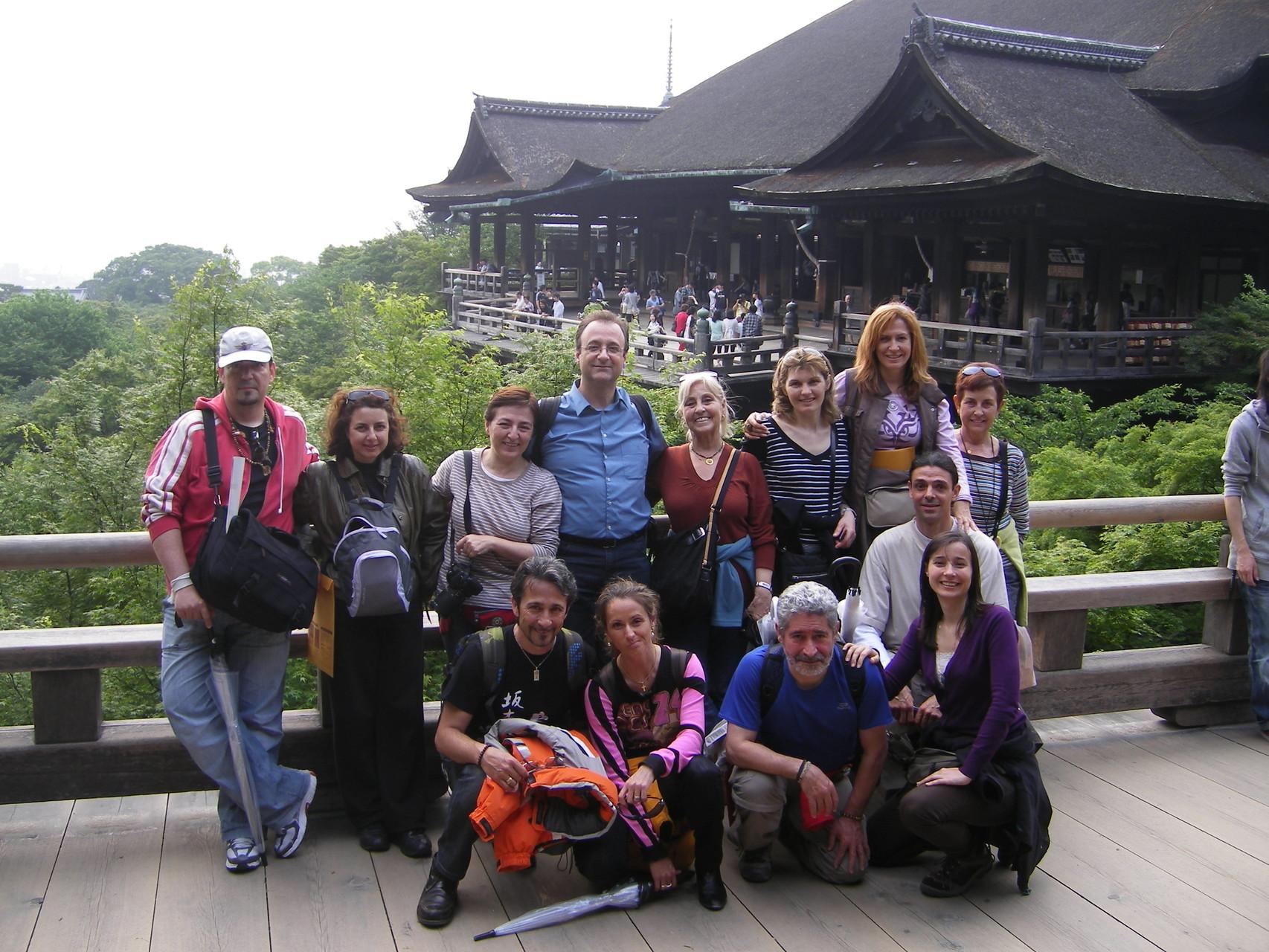 Grupo viaje Reiki en Kyoto