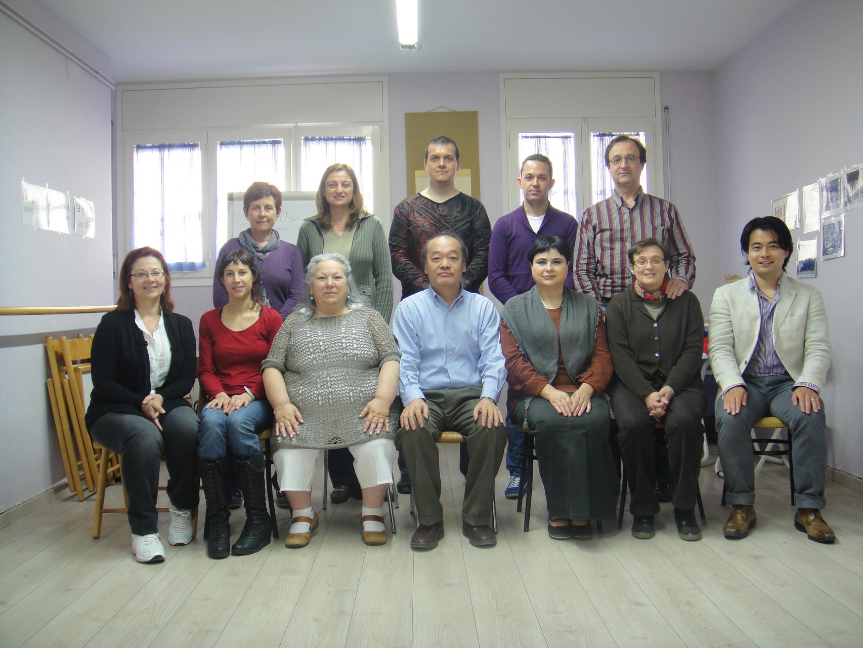 Seminario Jikiden Reiki con Tadao Yamaguchi  en Blanes 2012