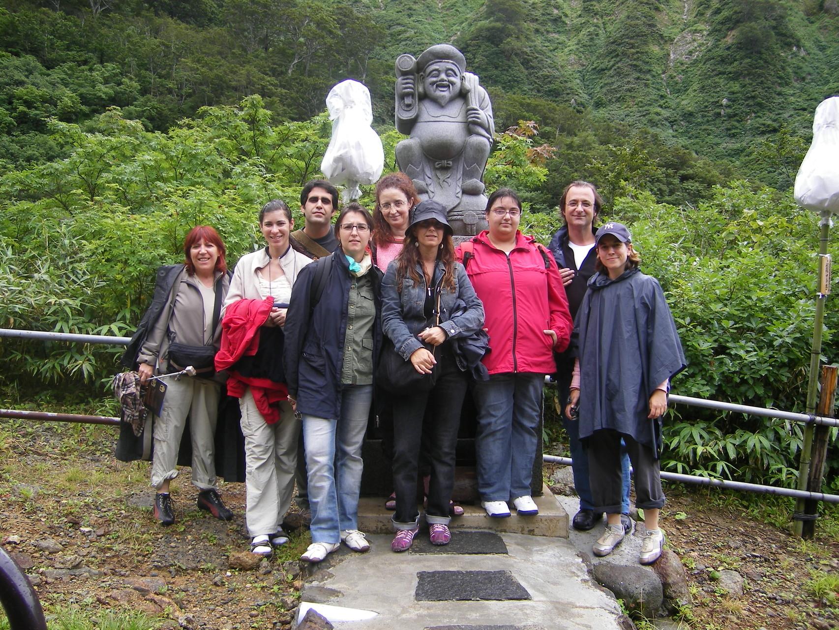 Viaje Reiki en Hagurosan - Japón