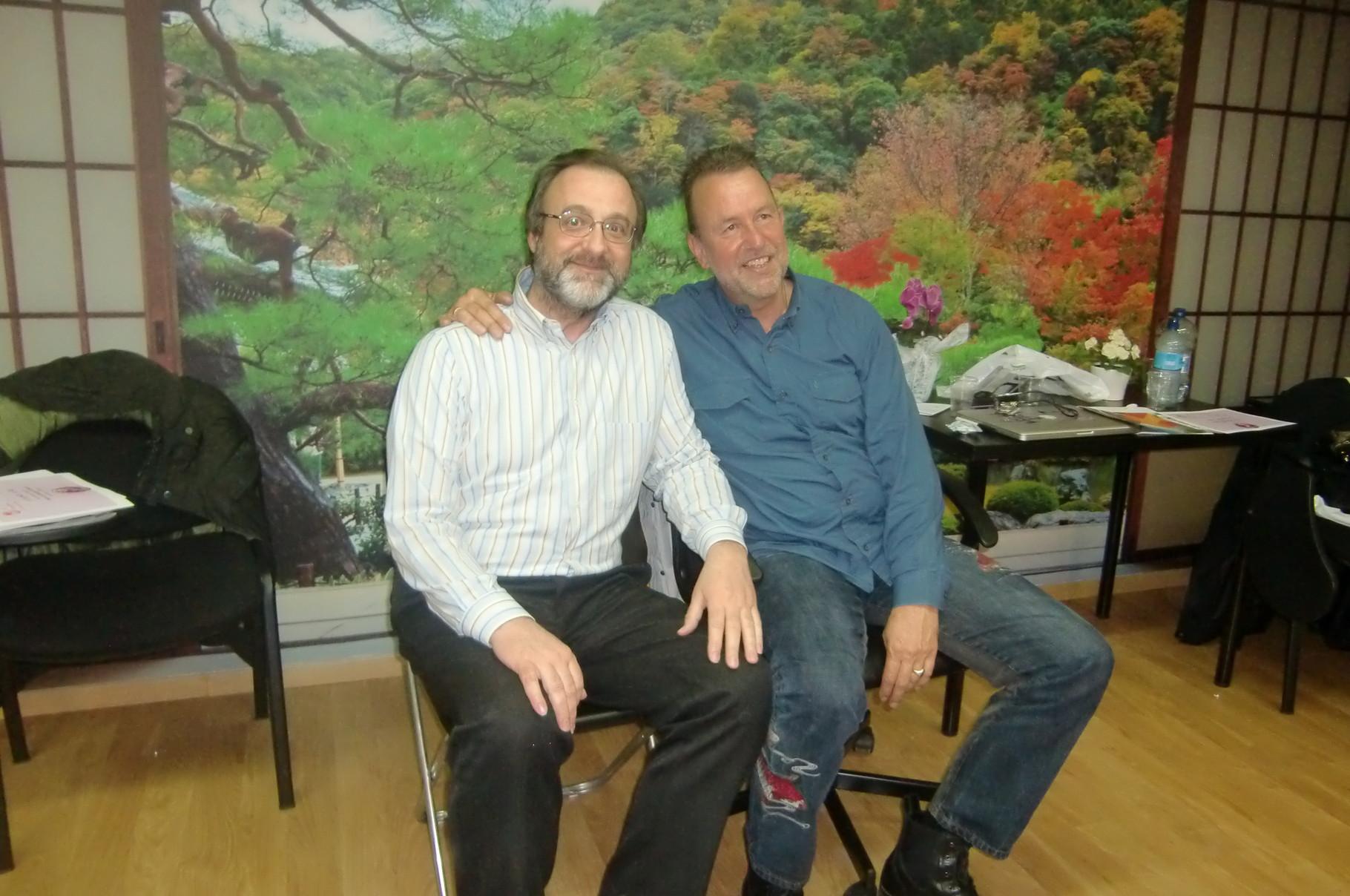 Frank Arjava y Tono Gimeno