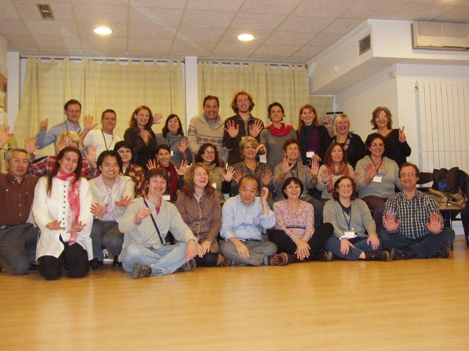 Seminario Jikiden Reiki con Tadao Yamaguchi en Blanes 2011