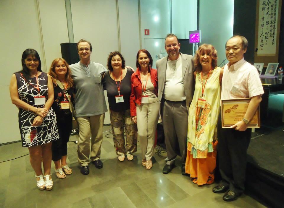 Durante el I Congreso Mundial de Jikiden Reiki Barcelona 2014