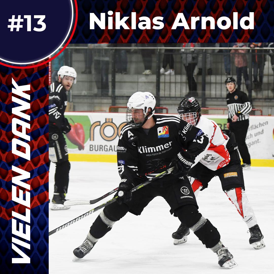 Niklas Arnold verlässt die Eisbären