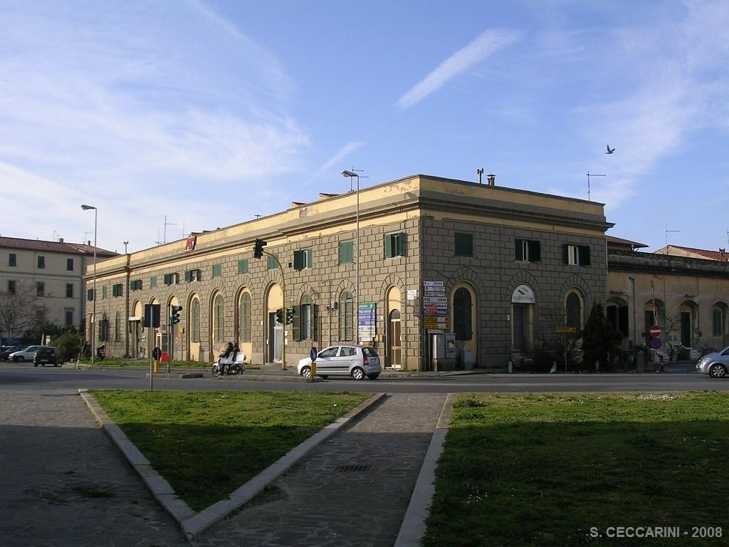 La stazione come si presentava nel 2008