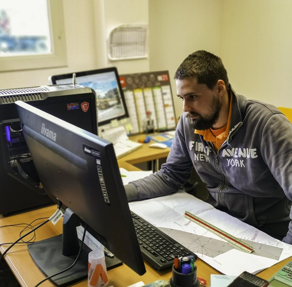 Portrait : Dominick, géomètre chez TTA
