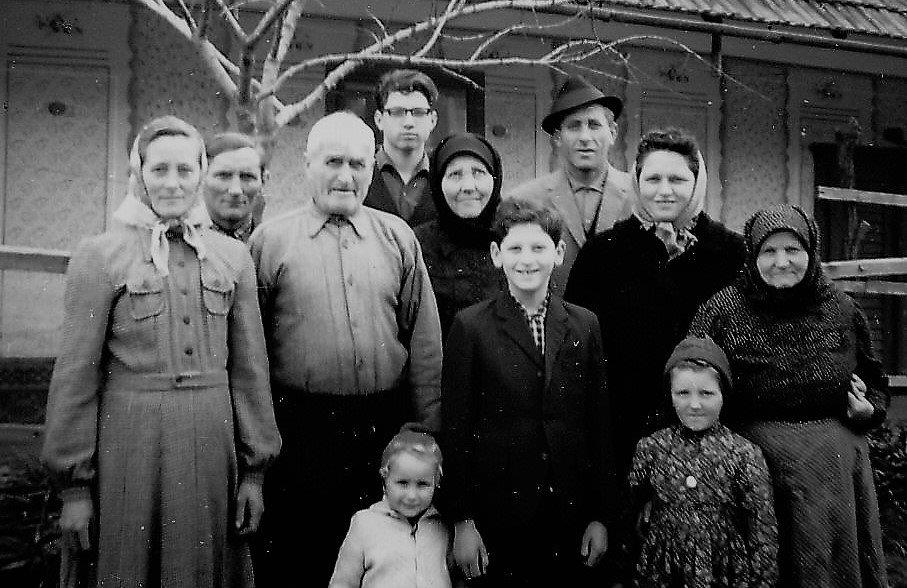 1964, Familientreffen in Lenauheim (Banat-Rumänien)