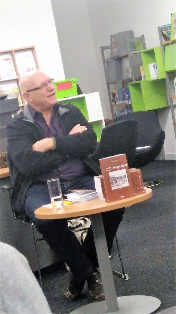 Lesung in der Gemeindebücherei Wört, November 2016
