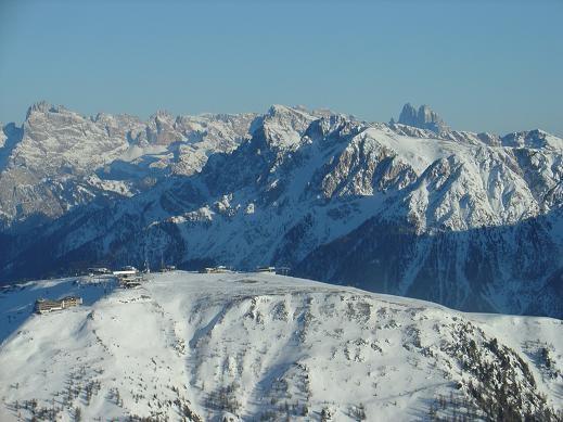 Skigebiet Skirama Kronplatz Dolomiten