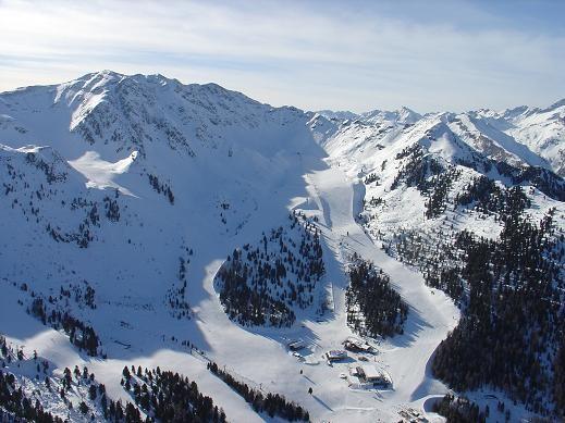 Skigebiet Speikboden im Ahrntal