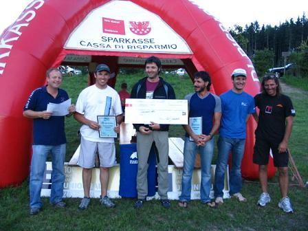 Internationale Meisterschaft im Drachenfliegen - Pfalzen
