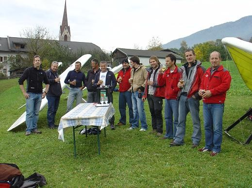 Drachenfliegerclub Pfalzen eingeladen von Paul Grünbacher